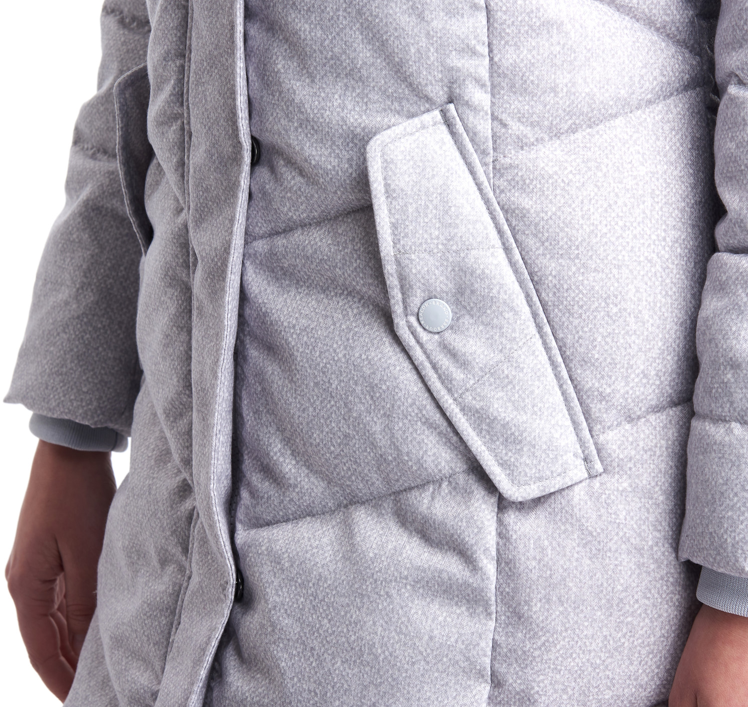 Barbour Sternway Quilted Jacket – Ice White | Mele Town ...